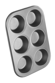 CHEF AID - 6 Cupcake/Muffin Pan