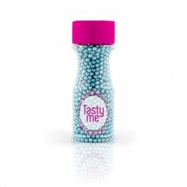 Tasty Me - Parels Metallic Blauw 4mm