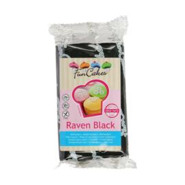 FunCakes Rolfondant Raven Black/zwart 250gr