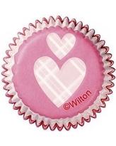 Wilton Mini Baking Cups `Do Something Sweet` pk/100 [415-0570]