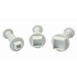 PME Miniature Square Plunger Cutter M 10mm