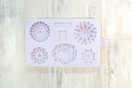Karen Davies Siliconen Mould - Brooch