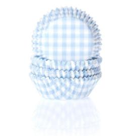 House of Marie Mini Baking cups Ruit blauw pk/60 [HM0558]
