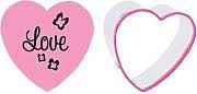 Blossom Sugar Art Heart (Love Heart) Cookie Cutter & Swirls Stamp