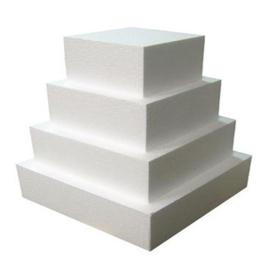 Dummy vierkant 12,5 x 12,5cm - 7cm Hoog - FunCakes