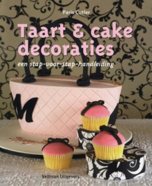 Boek: Taart & Cake Decoraties - Paris Cutler