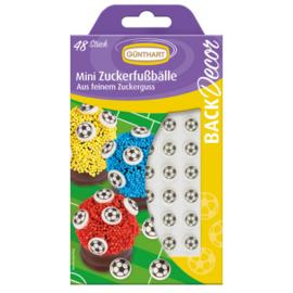 Günthart Suikerdecoratie Mini Voetballen 48st.