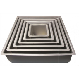PME Extra Hoge Bakvorm Vierkant 17,5 x 17,5 x 10cm