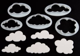 FMM - Fluffy Cloud Cutters set/5