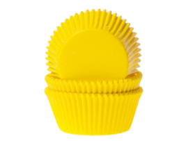 House of Marie Baking cups Geel - pk/50 [HM0053]