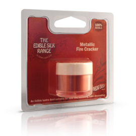 RD Edible Silk - Metallic Fire Cracker (Code: ESK206)