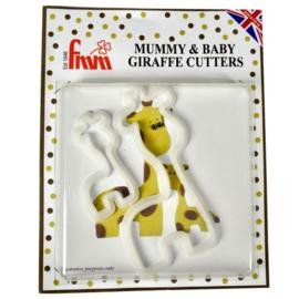 FMM - Mummy & Baby Giraffe Cutter Set/2