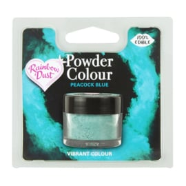 Powder Colour Peacock Blue (Code: POW229)