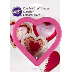 Koekjes uitsteker Wilton Comfort Grip Cutter Heart