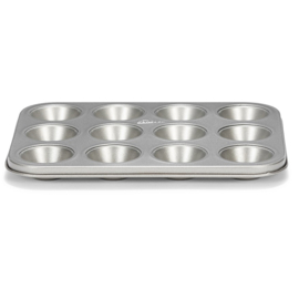 Patisse Silver-Top Mini Muffin Pan 12 vaks