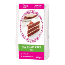 Tasty Me - Red Velvet Cake Mix Glutenvrij 400g