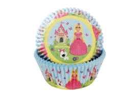 House of Marie Baking Cups Prinses pk/50 [HM2224]