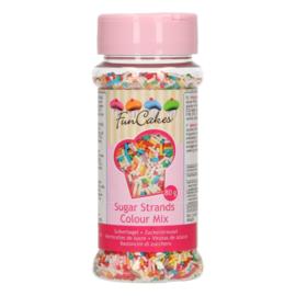 FunCakes Sugar Strands Kleurenmix 80g