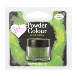 Powder Colour Olive Green (Code: POW225)