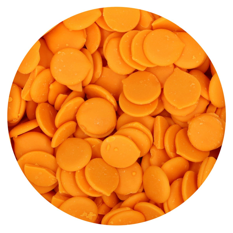 FunCakes Deco Melts -Oranje/Orange- 250g