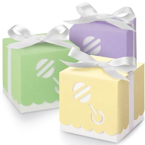Wilton Assorted Color Rattle Boxes pk/25