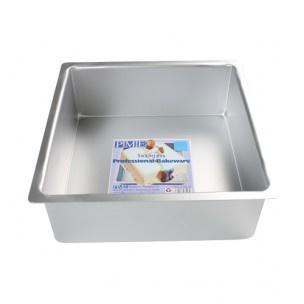 PME Extra Hoge Bakvorm Vierkant 20 x 20 x 10cm