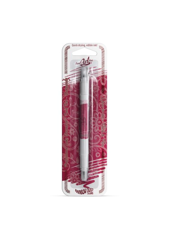Rainbow Dust - Food Art Pen -  Burgundy