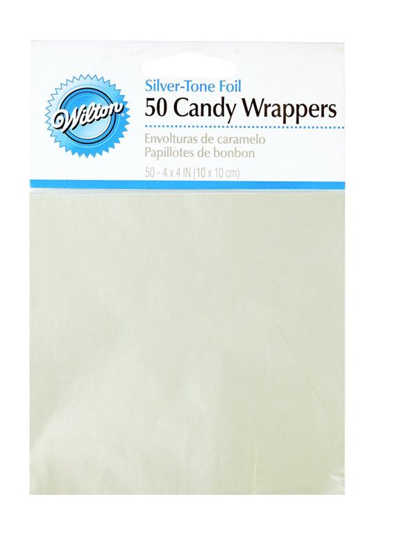 Wilton Foil Wrappers Silver pk/50