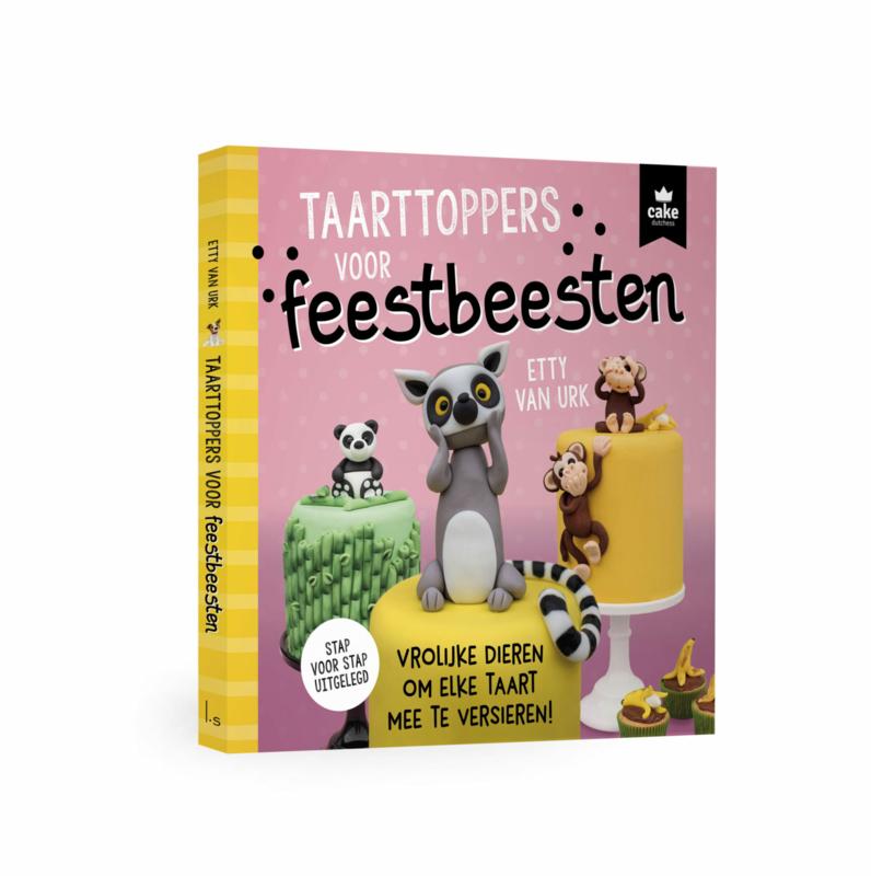 Boek: Cake Dutchess - Taarttoppers voor feestbeesten