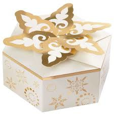 Wilton Treat Box Holiday Snowflake Set/3