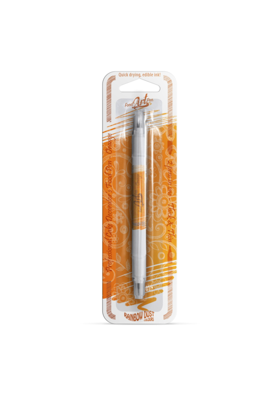 Rainbow Dust - Food Art Pen - Orange