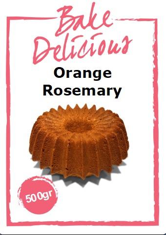 Bake Delicious - Orange Rosemary Cake - 500gr
