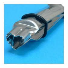 PME Heart Shape Serrated Crimper 13mm