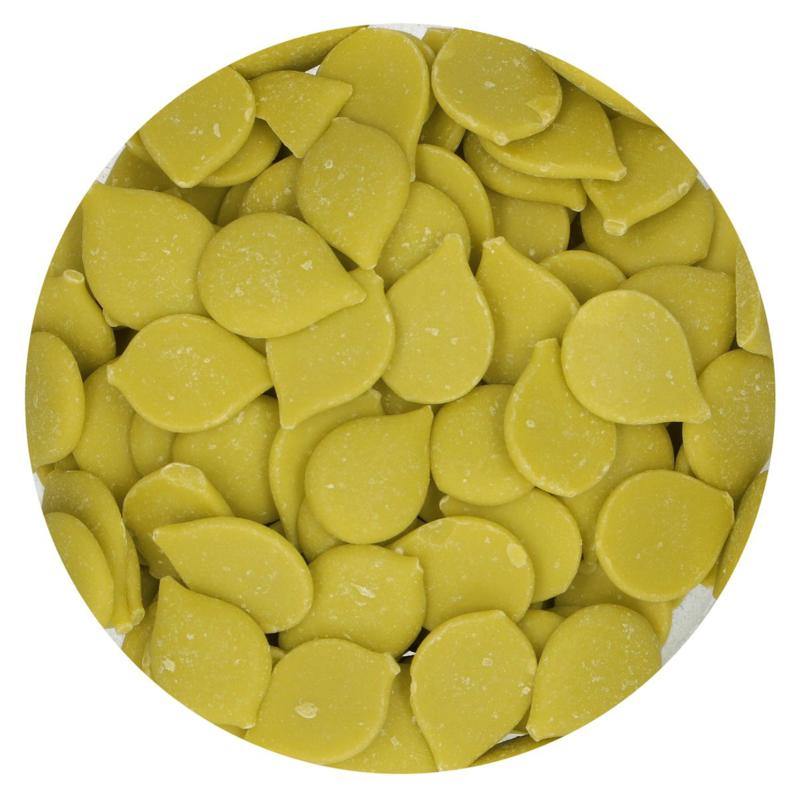 FunCakes Deco Melts -Lime Green - 250g