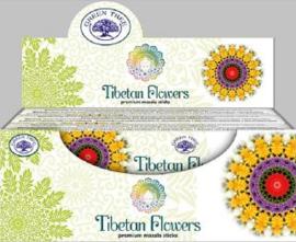 Wierook Tibetan Flowers is een heerlijke wierook geur van masala.