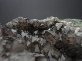 Amethist cluster smokey met bergkristal