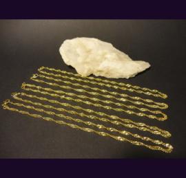 Ketting Gold Platted Goud Vergulding