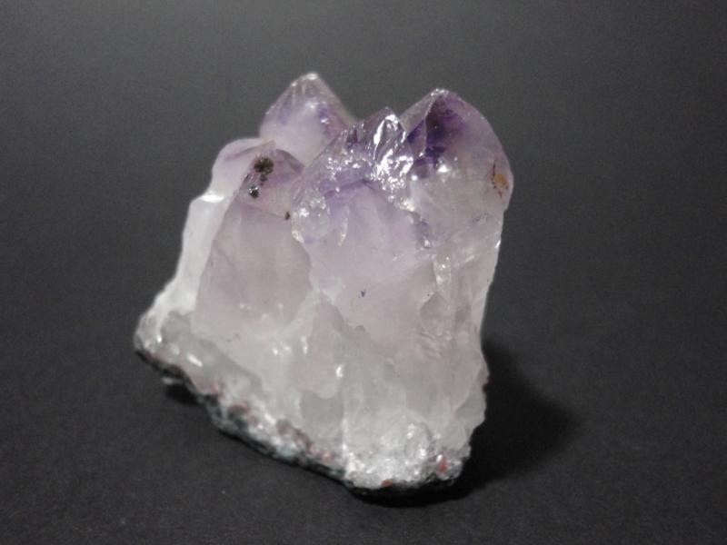 Amethist cluster met Bergkristal