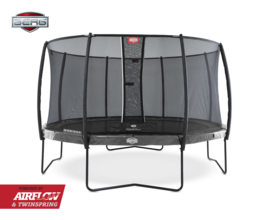 Berg Elite+ en Elie+ Inground Trampoline