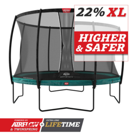 Berg Champion 430 met safetynet DLX XL