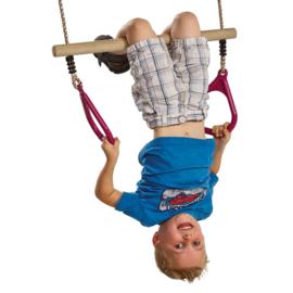 Ring trapeze met plastic ringen