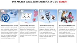 BERG Buzzy Bloom 2-in-1