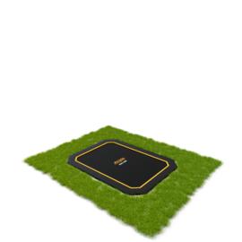 FlatLevel trampoline set 223 305x225 cm zwart