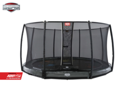 Berg Elite 430 Grey levels Inground + SafetyNet DeLuxe