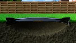 Ronde FlatLevel trampoline set 08 Ø 245 cm
