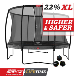 Berg Champion 430 Levels met safetynet DLX XL
