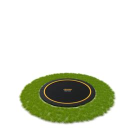 Ronde FlatLevel trampoline set 08 Ø 245 cm zwart