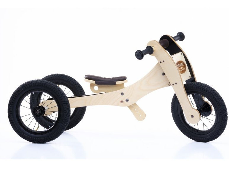 Trybike Wood 4 in 1 Loopfiets