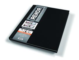 Rendr Alcohol Marker Sketchbook 21,5 x 27,9 cm - 96 pagina's - 180 grams Wit