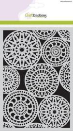 CraftEmotions Mask stencil - Fantasy cirkelpatroon A5